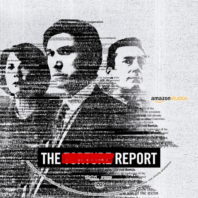 The Report DVD Label