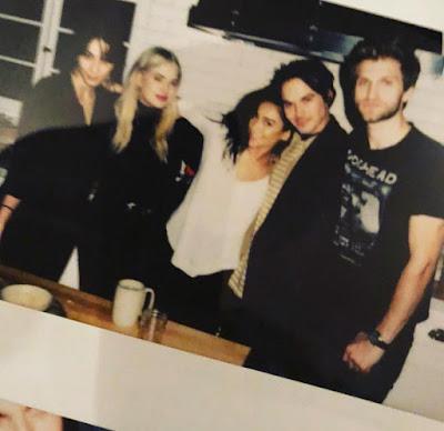 'Pretty Little Liars' Reunion house party game night: Ashley Benson, Troian Bellisario, Shay Mitchell, Keegan Allen, Tyler Blackburn