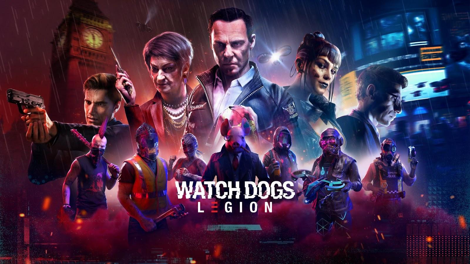 المراجعة الكاملة للعبة واتش دوغز ليجن Watch Dogs Legion