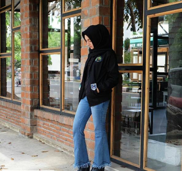 gambar model baju hijab modis