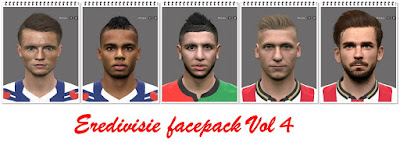 PES 2016 Eredivisie Facepack Vol4