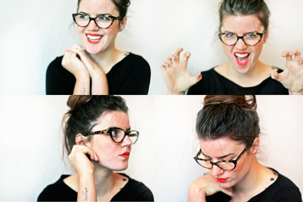 8343779e3e Fashion Street Style England Jade Rose Blog  Cat Eye Glasses + ...