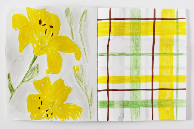 2x2, 2x2 Sketchbook, sketchbooks, artist collaborations, Anne Butera, Dana Barbieri