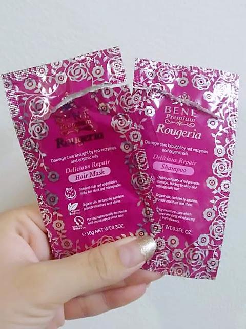 Bene Premium Rougeria  Shampoo & Hair Mask