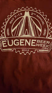 2012 Eugene Beer Week T-shirt
