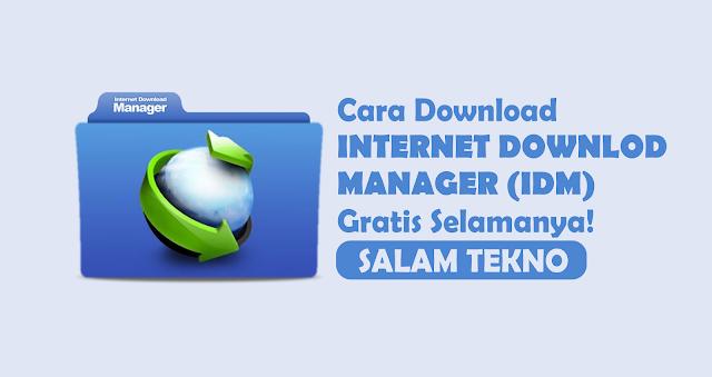 cara download internet download manager