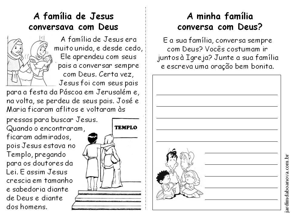 IAM PEQUENOS E GRANDES MISSIONÁRIOS: Sagrada Família De Nazaré