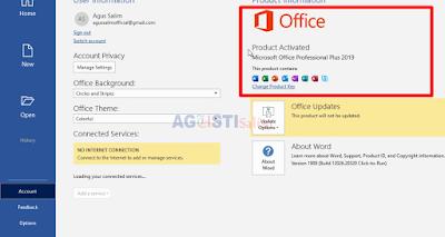 Aktivasi Microsoft Office Pro 2016 - 2019 GRATIS!!!