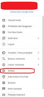 langkah-langkah mengganti nama channel yt