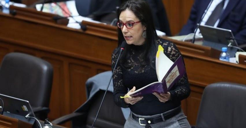 Enfoque de género está en textos desde los gobiernos de García y Fujimori, sostuvo Marisa Glave, congresista de Nuevo Perú - NP