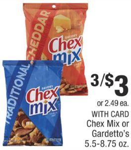 Chex Mix CVS Coupon Deal 6/29-7/6 - $0.66