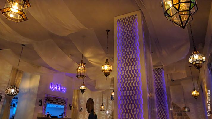Ресторан ливанской кухни Byblos, Черногория
