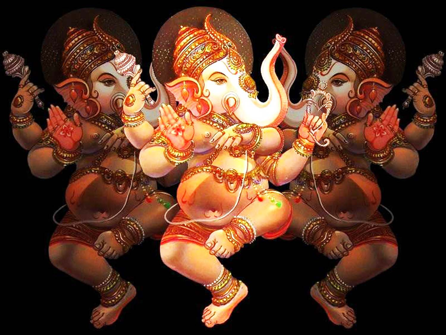 Lord Ganpati photo in 3d!