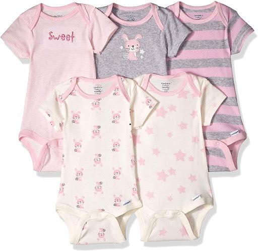 Organic Cotton Preemie Baby Girl Clothes