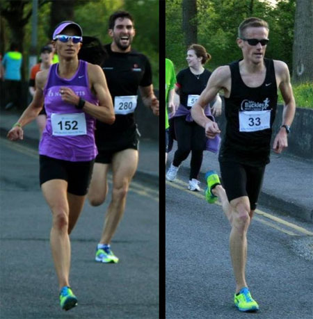1b4206771 Winners of the 2013 John Buckley Sports 5k...Laura Crowe and Mark Hanrahan