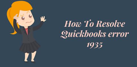 The most effective method to Resolve Quickbooks Error 1935