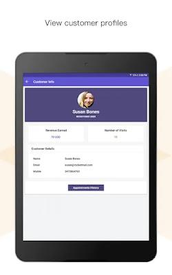Screenshot Zoho Bookings - Apcoid