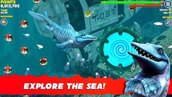 Hungry Shark Evolution Mod Apk Unlimited