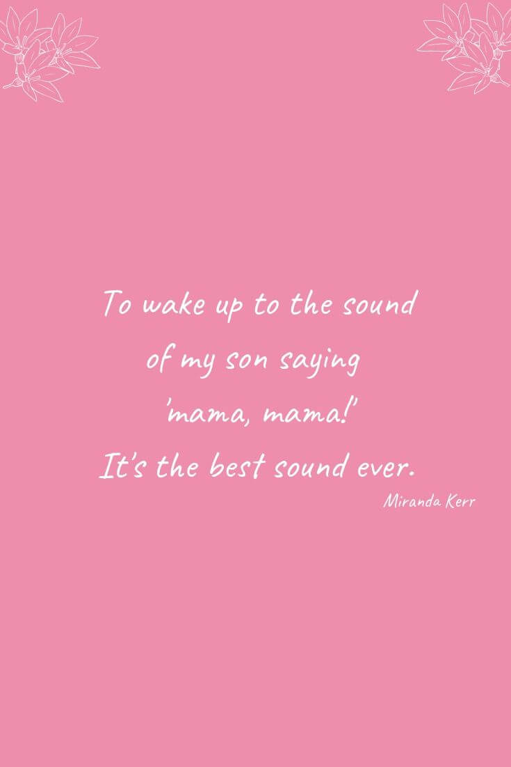 What It's Like Being A Mum With Boys | To wake up to the sound of my son saying 'mama, mama!' It's the best sound ever.