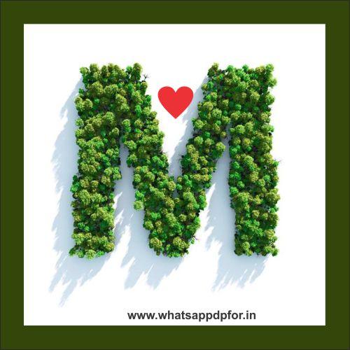 Love Wallpaper Images M Name Dp