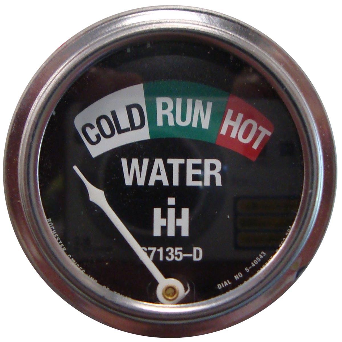 Typical temperature gauge