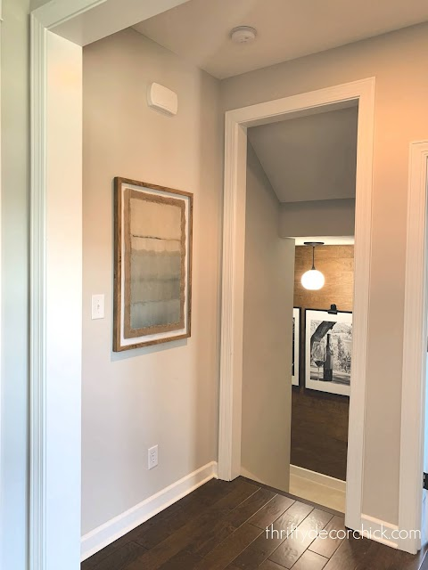 small hallway stairs