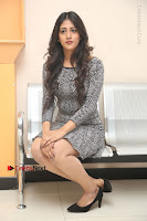 Actress Chandini Chowdary Pos in Short Dress at Howrah Bridge Movie Press Meet  0109.JPG