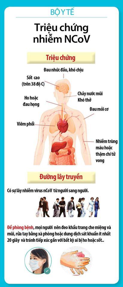 Tin mới nhất dịch bệnh virus corona (nCoV) hôm nay 31/01/2020 tại Việt Nam