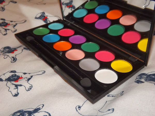 Sleek i-Divine Matte Ultra Brights Palette