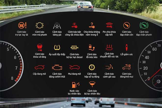 Các Nút Chức Năng Trên Xe Ô Tô Năm 2018