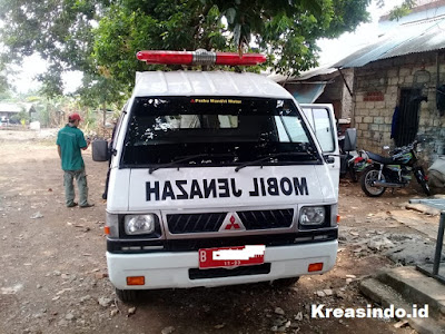 Keranda Mayat Stainless pesanan Setjen Kemendagri Jakarta