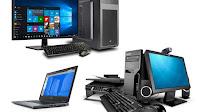 Tutti i tipi di computer, PC Desktop e Laptop