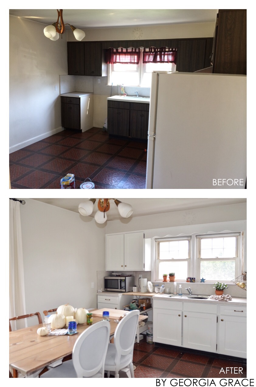 Kitchen New Painted Cabinets Amp Walls By Georgia Grace