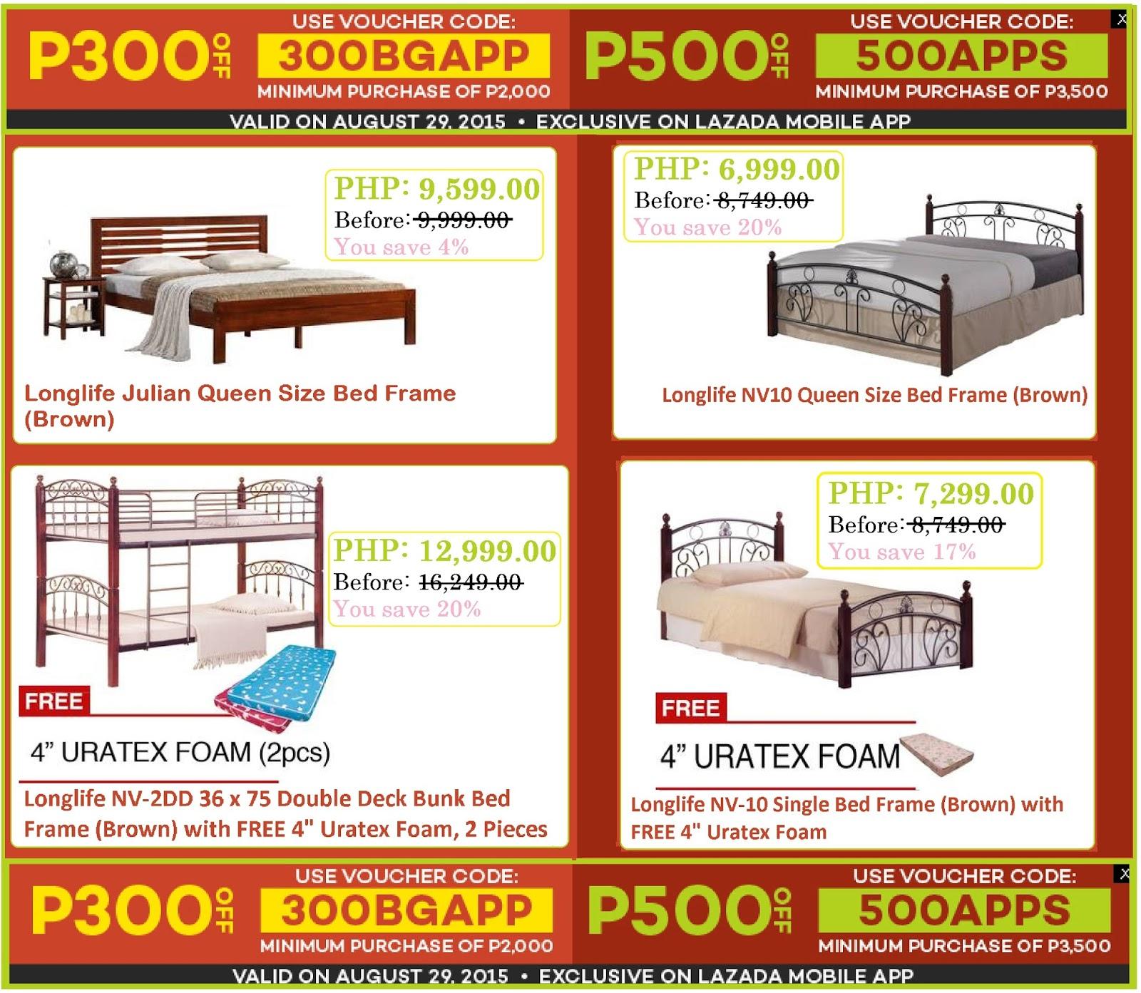 Home Furniture Bed Frame At Lazada S Big App Promo
