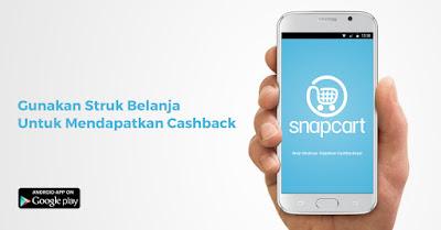 SnapCart Aplikasi Penghasil Uang