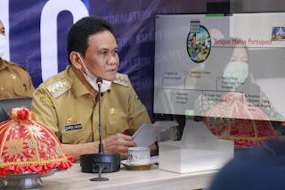 Vidcom Bupati Barru  Bahas Peningkatan Akses Air Minum Dan Sanitasi Aman Bagi Masyarakat Barru