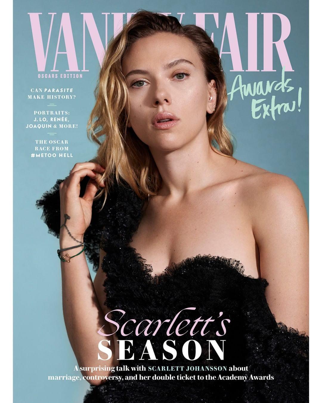 Vanity Fair Cover January 2020.Scarlett Johansson On Vanity Fair Magazine Cover Iscoopboye