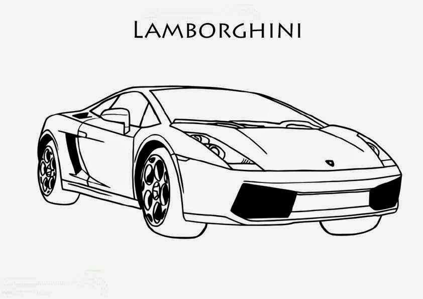 Coloriage De Voiture Wallpaper Lamborghini
