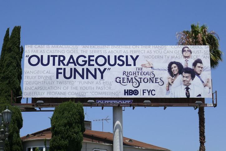 Righteous Gemstones Emmy 2020 fyc billboard