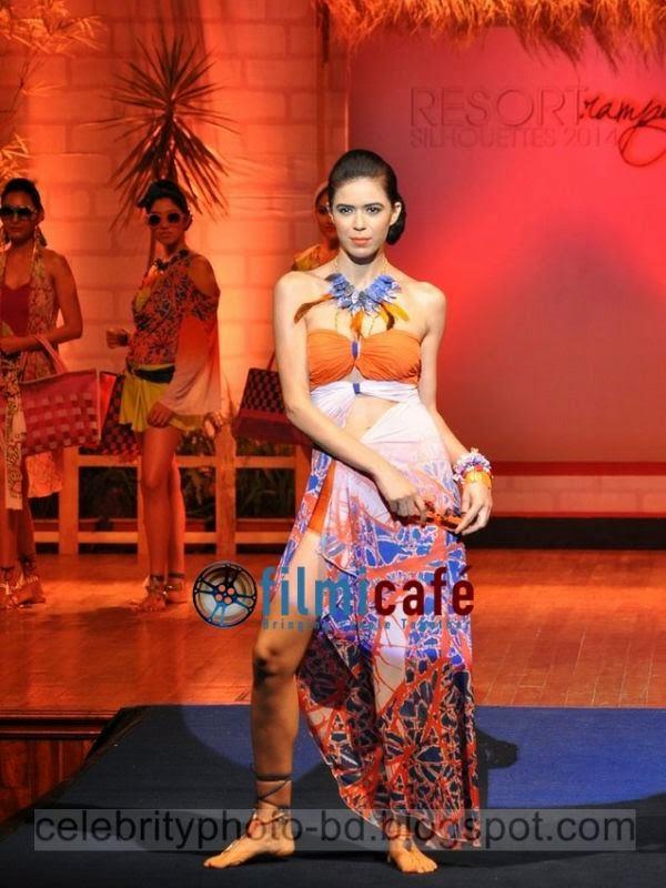 Bangladeshi Somani's Resort Ramp Silhouettes Hot Ramp Girls Fashion Show Photos 2014