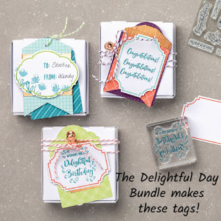 Delightful Day Tags Bundle finished tags