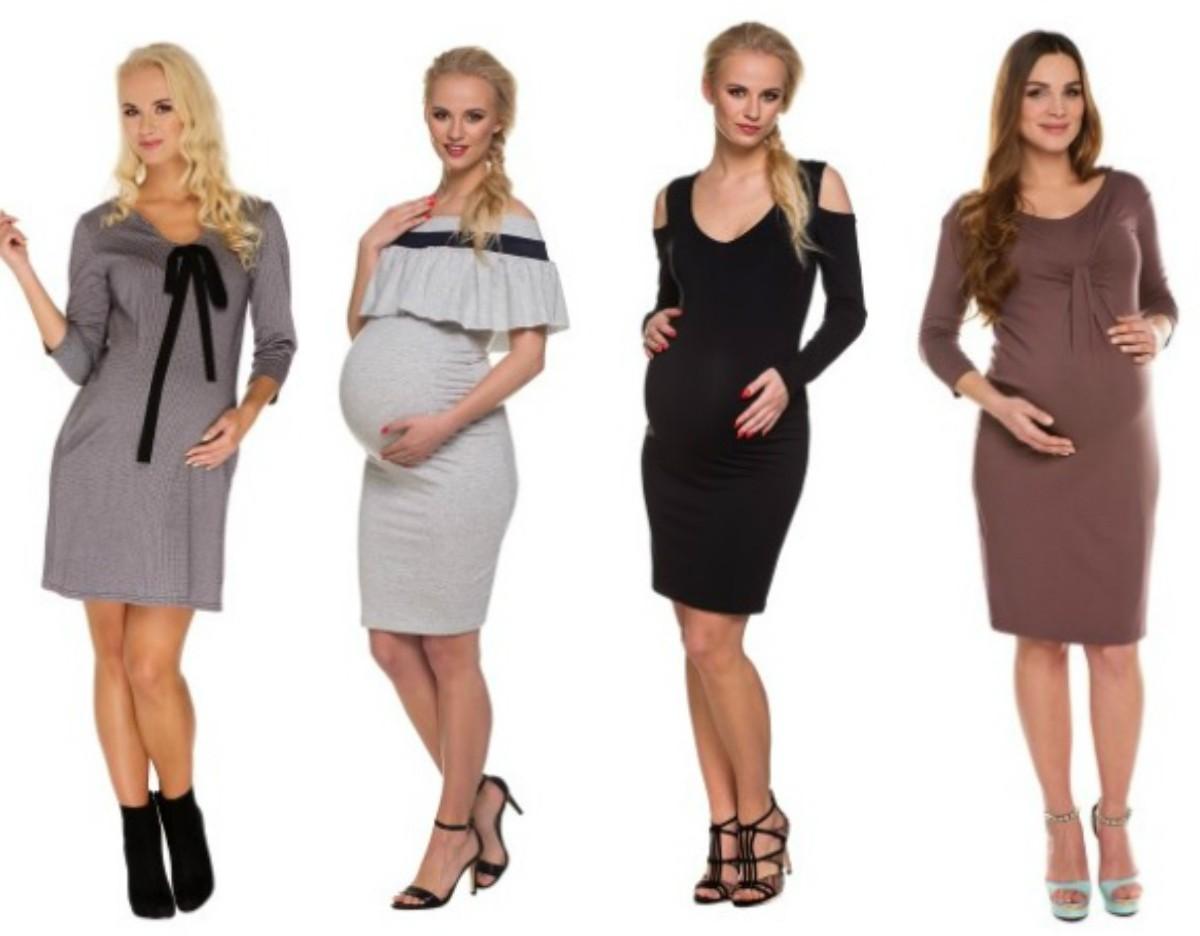 wiosenne-sukienki-ciążowe