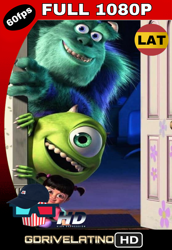 Monsters, Inc. (2001) BRRip FULL 1080p Latino MKV