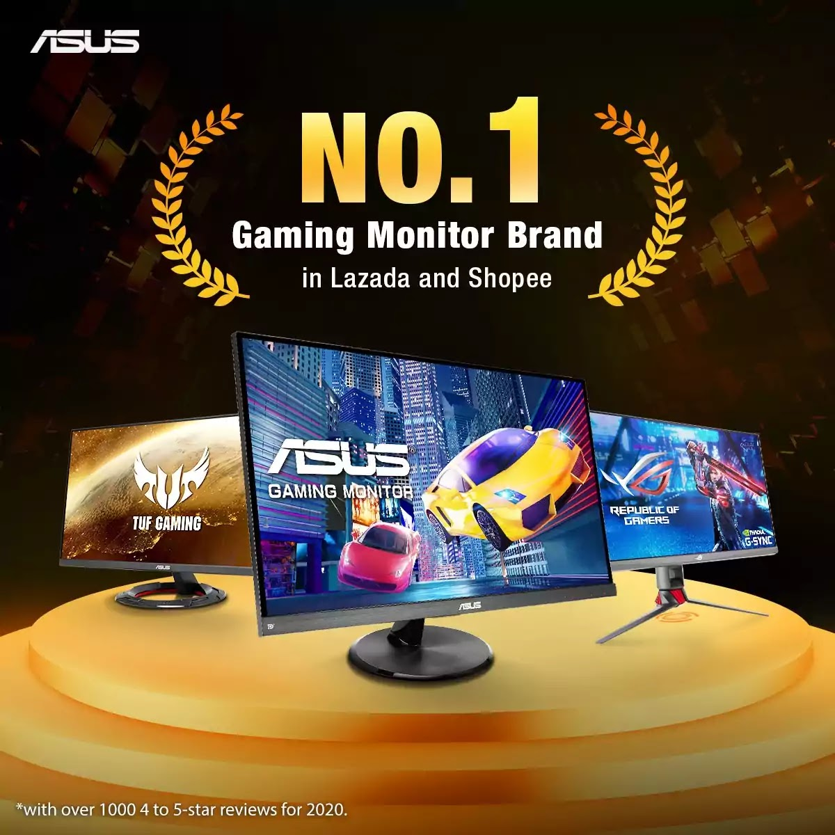 ASUS - No.1 Best-Selling Gaming Monitor Brand