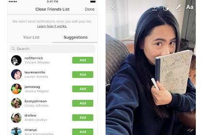 Cara Share Post Instagram dan Snapgram Ke Teman Dekat / Tertentu