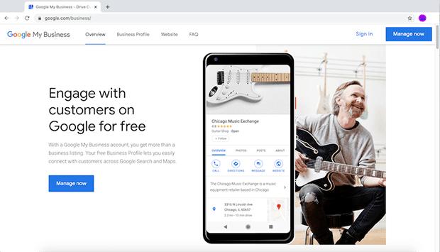 كيفية التسجيل في نشاطي التجاري على جوجل