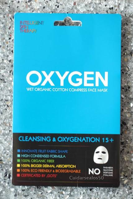 Mascarilla limpiadora y oxigenante Beauty face