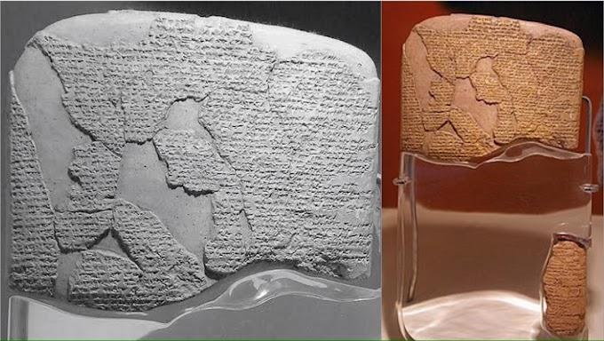 3000 years old peace treaty signed by Pharaoh Ramesses II & King Hattušiliš III