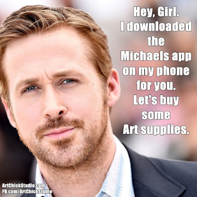 Hey Girl Michaels App Art Meme