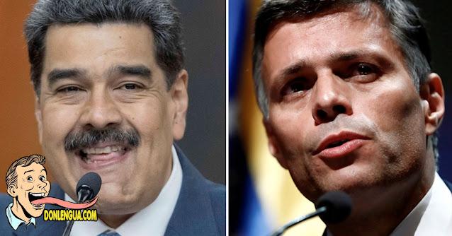 Maduro asegura que Leopoldo López llamará  a participar en las elecciones fraudulentas del 6--D